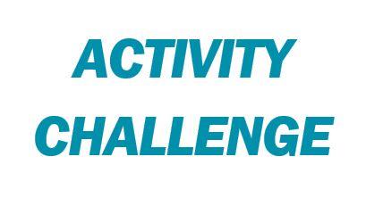 Activity Challenge