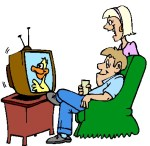 clipart television
