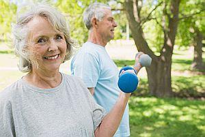 Senior Fitness - Seniors Exercising and Looking Good