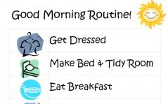 Morning Routine including Healthy Habits