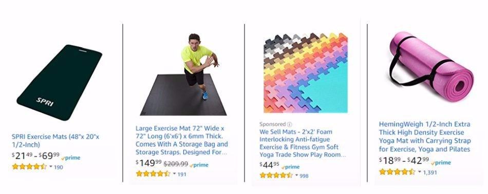 Amazon Mats