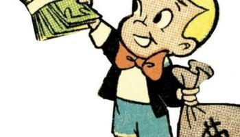 Richie Rich Giving Money