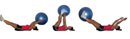 Stability Ball V-Pass