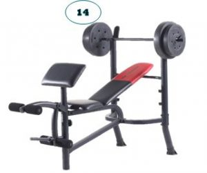 14. Weight Bench