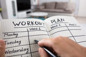 Create a Journal: Hand-Written Weekly Exercise Journal