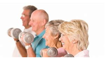 Exercise Can Help Elderly People Lifting Weights