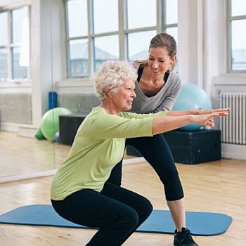 Boomer Exercises - Squat