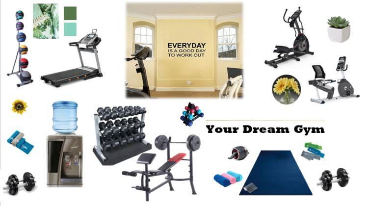 Favorite Home Gym Ideas for your workout favorites