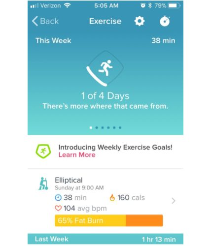 How to Log Your Workout to a Fitbit