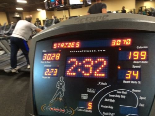 HIIT Lateral Elliptical at the Gym