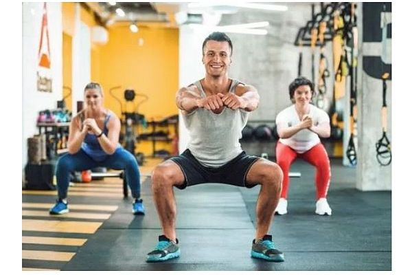 Exercises for Beginners - Squat Class