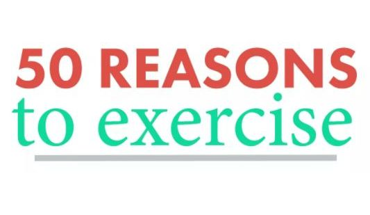 50 Exercise Reasons