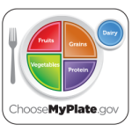 How Much of Each Food Group on a Plate