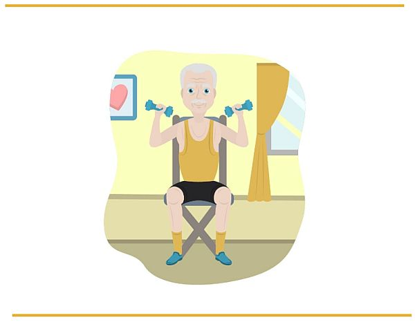 Senior Exercising - Stay Active and Healthy as you age