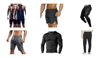 Athletic Activewear Men's Gym Clothing