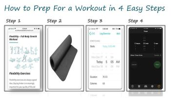 Exercise in Four Easy Steps